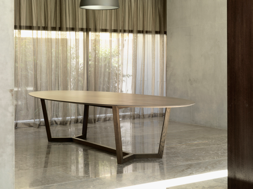 The Atticus Table Dining Table Furniture Wood Dining Table