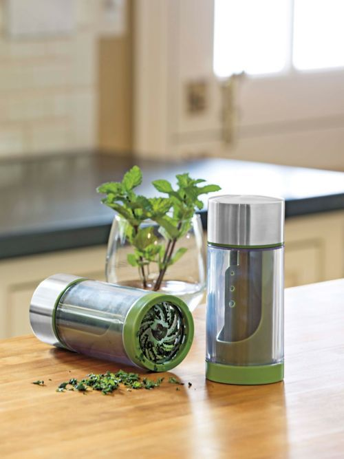 Deluxe Microplane® Herb Mill ? herb mincer | Solutions