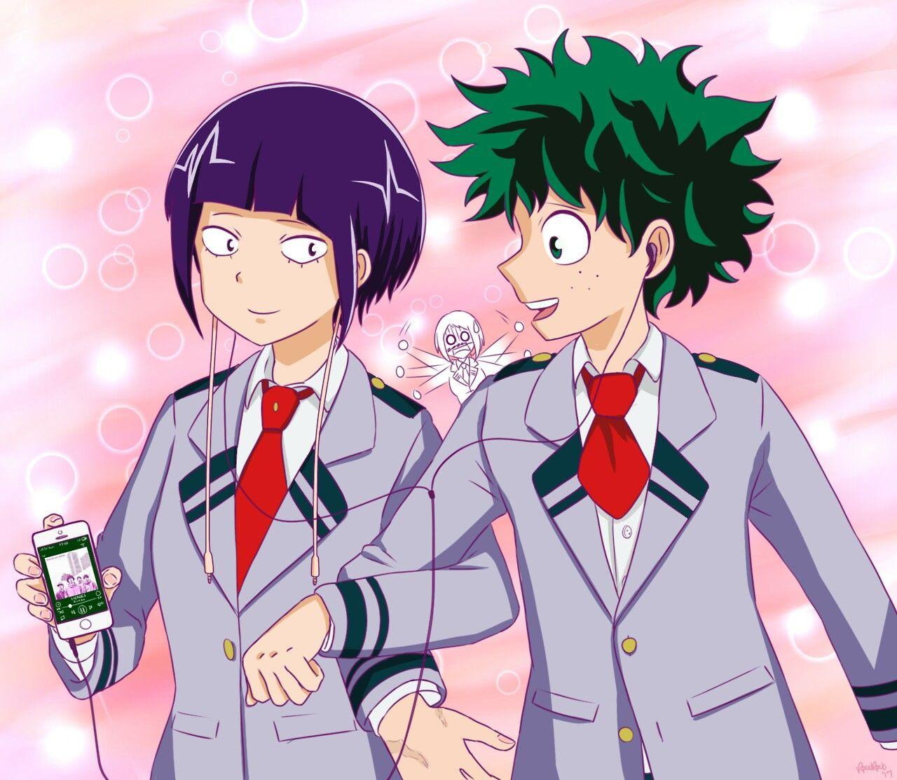 Garotos Anime, Izuku Midoriya E