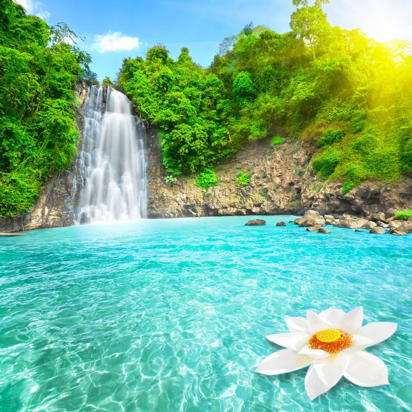 Waterfall 6818 Waterfalls Streams Landscape Scenery Waterfall Pictures Waterfall Landscape Scenery