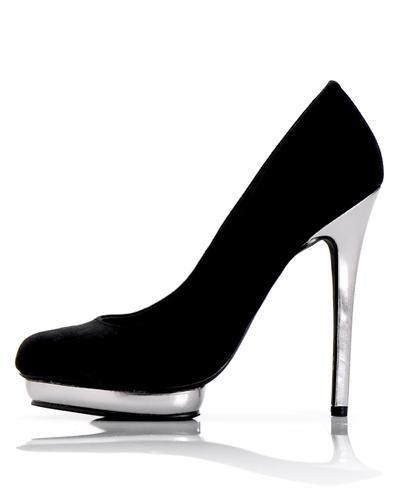 Penny Loves Kenny  black SUEDE FASHION platform pumpwomens shoe size 8  #PENNYLOVESKENNY #FashionAnkle