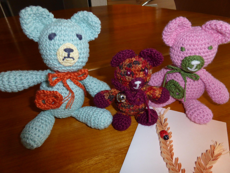 Zur Geburt der Tochter eine Bärenfamilie für Tilo