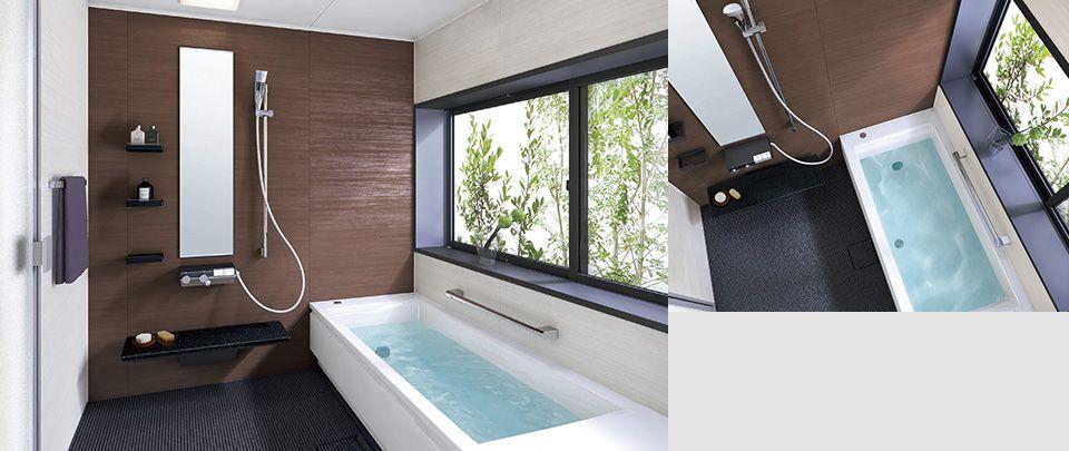 設備セット例 参考価格 お風呂 バス ユニットバス Totoの浴室