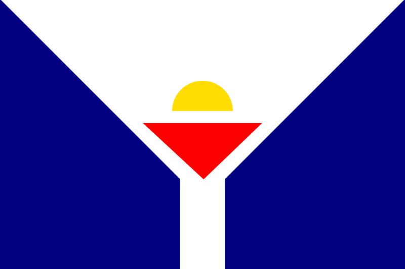 flag of st martin