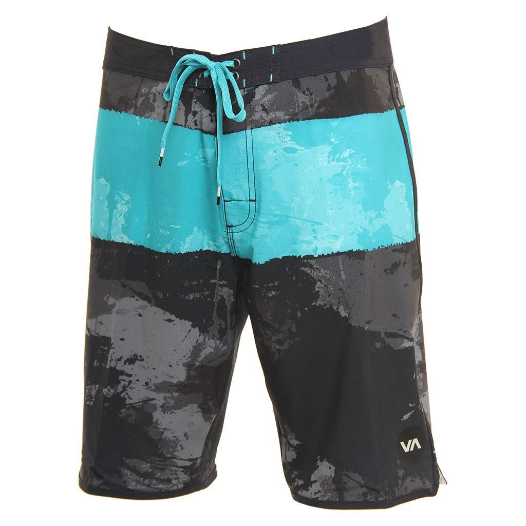 RVCA Mens Boardshorts Splice Black
