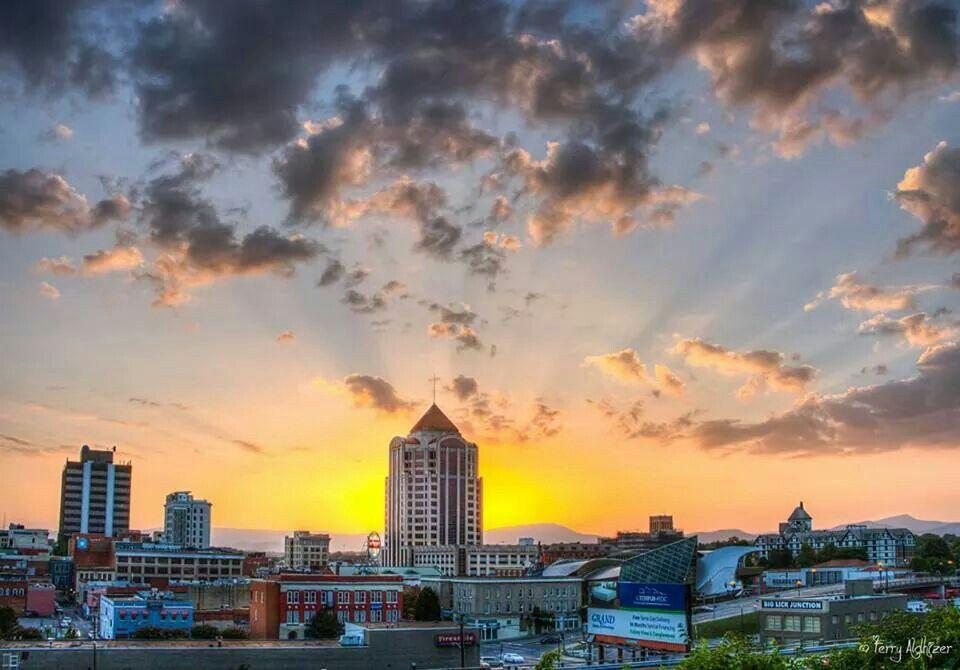 Downtown Roanoke Va Roanoke Roanoke Virginia Roanoke Va