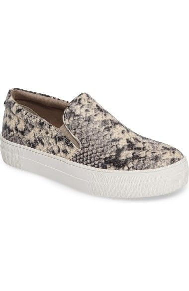 c06ffef533b STEVE MADDEN Gills Platform Slip-On Sneaker. #stevemadden #shoes ...