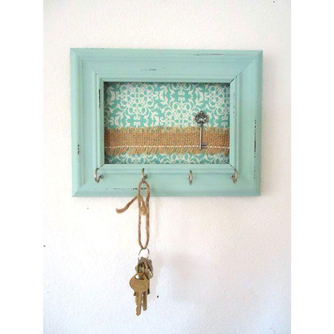 Resultado de imagen para casitas de madera porta llaves deco hogar decoraci n diy - Porta llaves pared ...