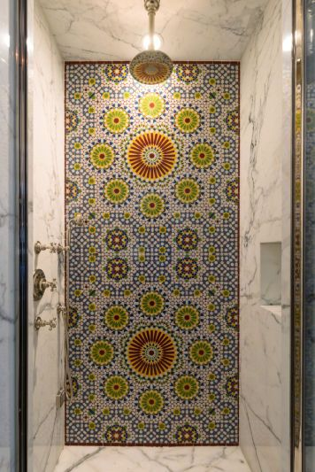 Robert Pattinson S Spanish Colonial Shower Power