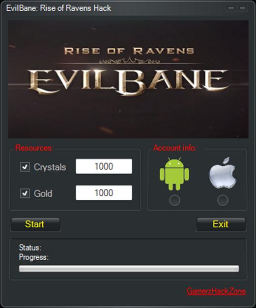 EvilBane Rise Of Ravens Hack AndroidiOS Gamerz Hack