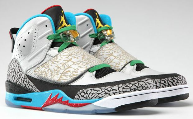 Air Jordan Sons Of Mars 'Pop Art' Sneakers - freshhh