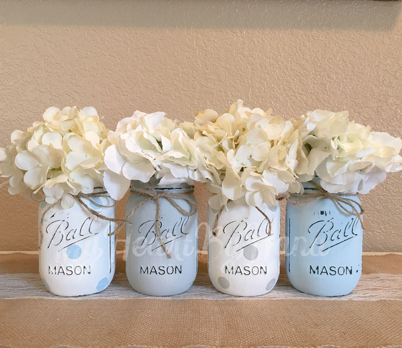 Baby Shower Mason Jars Baby Boy Baby Shower Gift For Baby Boy