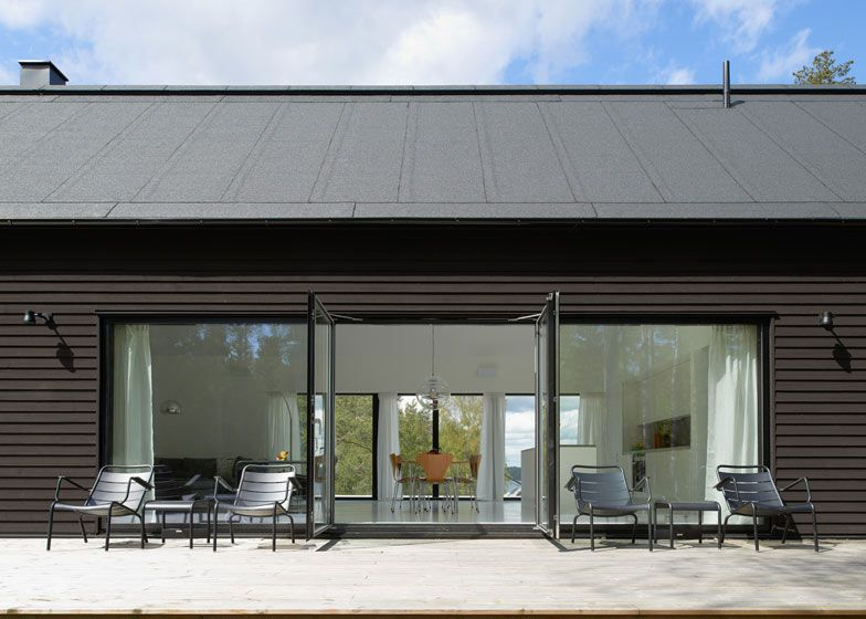 villa wallin by erik andersson architects barn houses