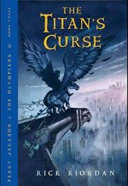 Percy jackson and the titans curse book cover