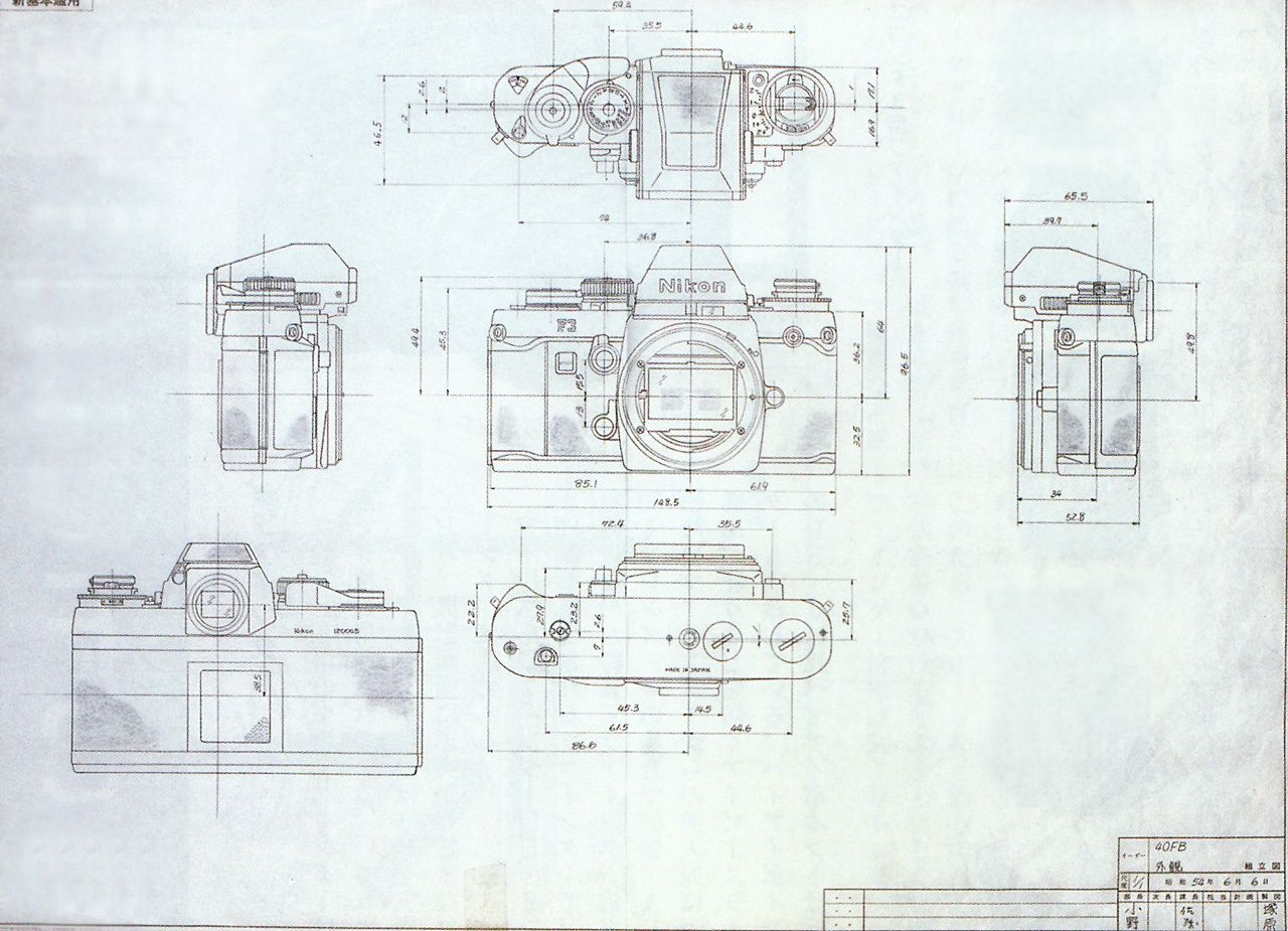 Vintage camera blueprint google search cut pinterest for Printing architectural drawings