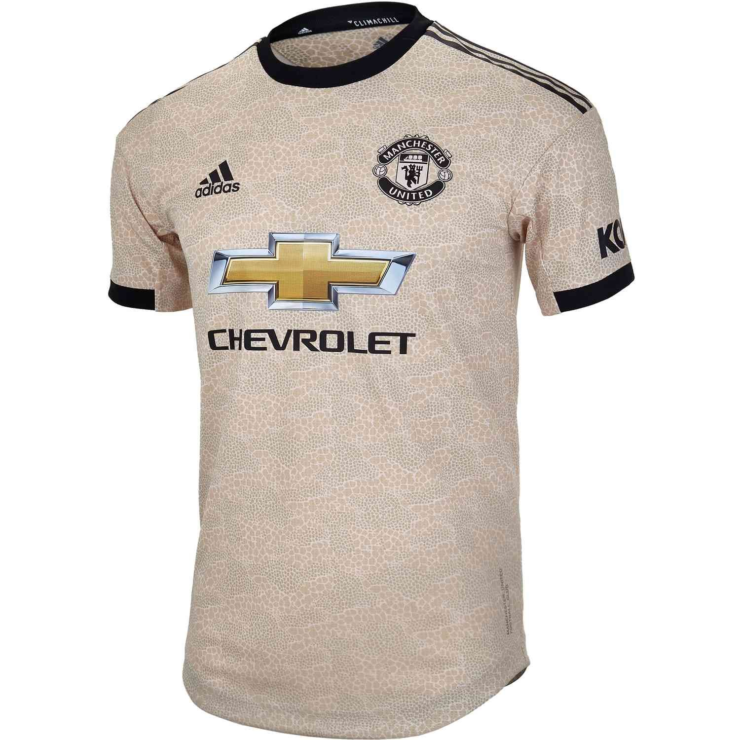2019 20 Adidas Manchester United Away Authentic Jersey Soccerpro Manchester United Manchester United Away Kit Manchester United Soccer