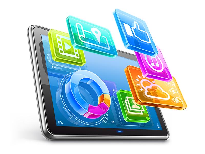 App stuff Business icon, Vector free, App