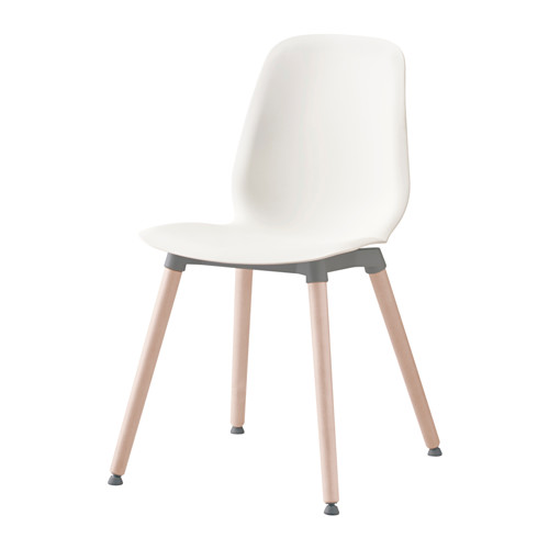 leifarne chair, white, ernfrid birch   flexibility