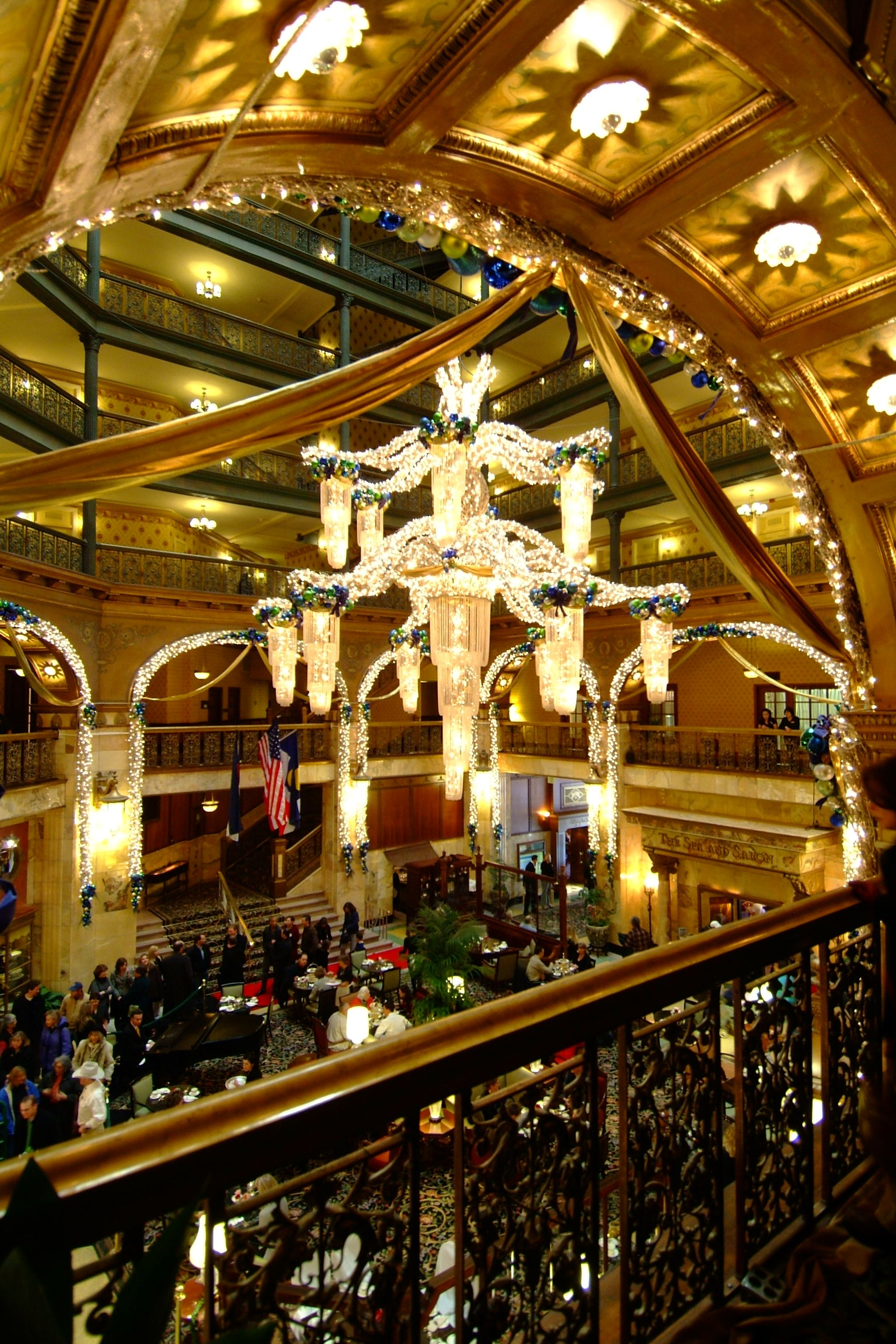 Denver Bucket List High Tea At The Historic Brown Palace Hotel