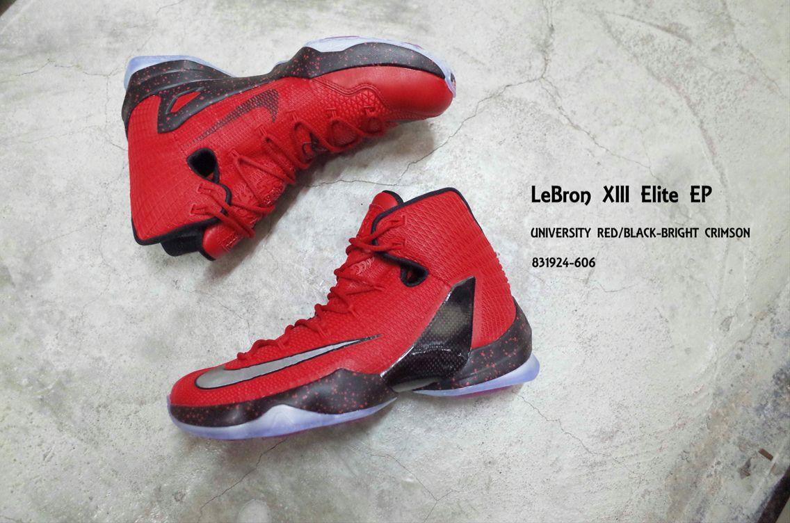 089da9c4b5c Nike Lebron XIII Elite EP 13 James The Hunt Red Black Mens ...