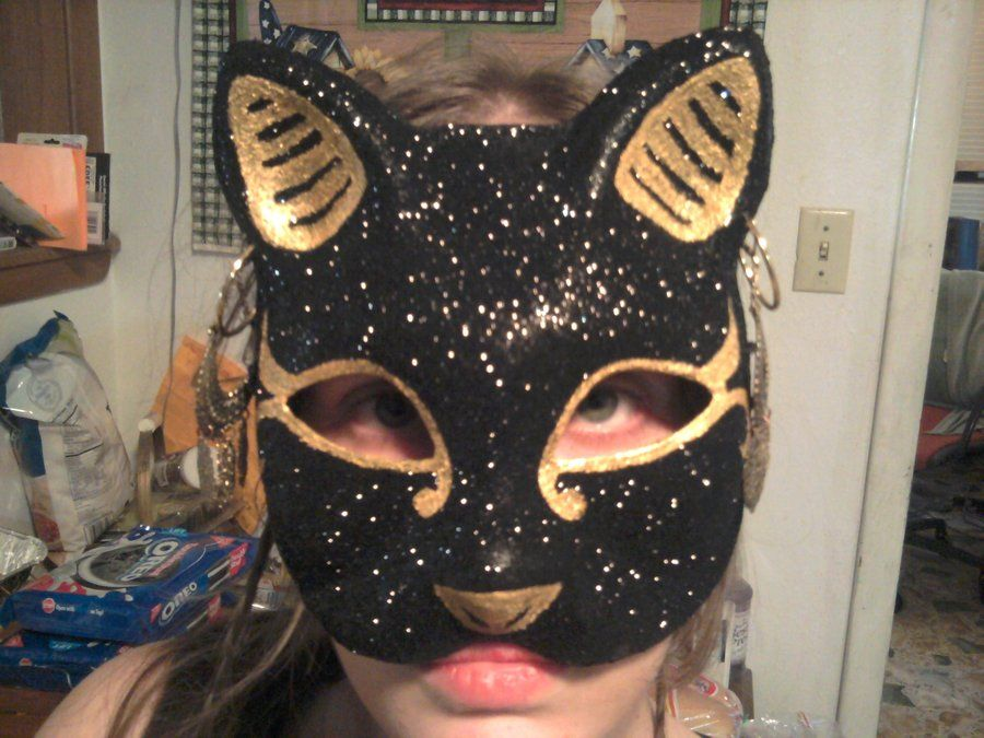 Bastet mask- finished by crystalofchaos
