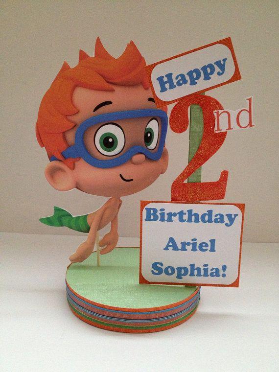 Bubble Guppies Nonny Custom Birthday Party Centerpiece