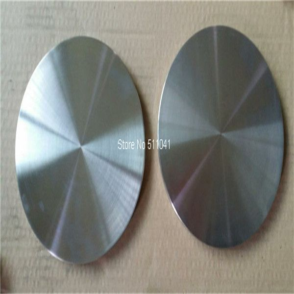 nickel round plate sheet ,OD 52.2mm *3mm(thick),10pcs  wholesale,free shipping