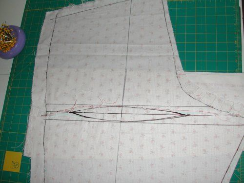 Stitches and Seams: Alterations: Fisheye Dart (Pants)