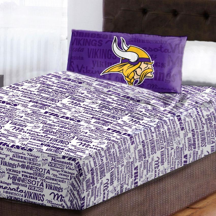 NFL Minnesota Vikings Anthem Bedroom Collection Football