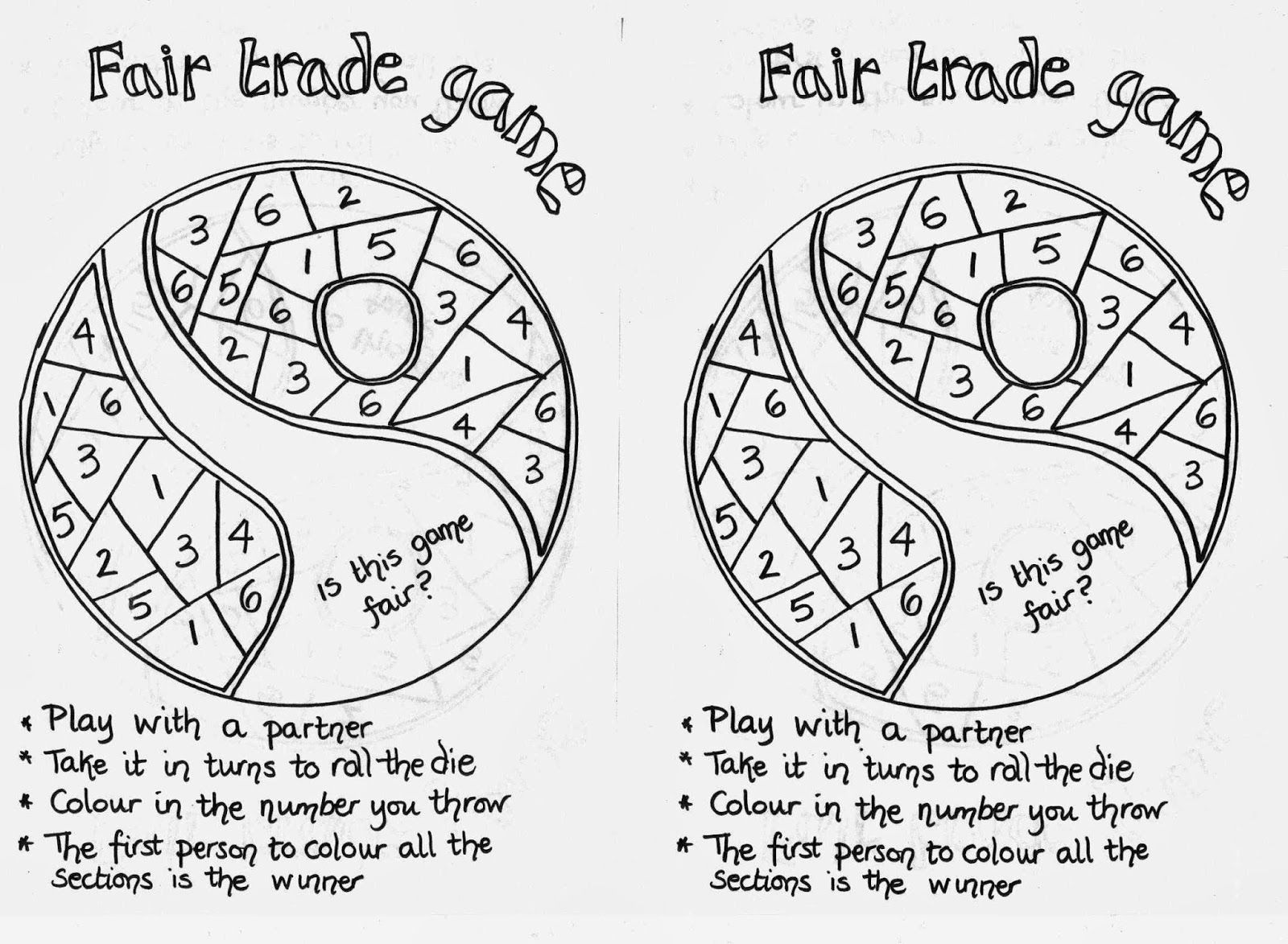 Flame: Creative Children's Ministry: Fair Trade Game for