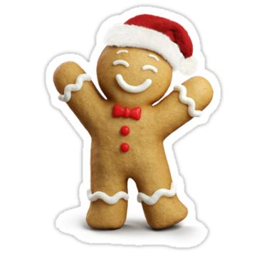 Gingerbread Man Sticker By Greentreebirb Gingerbread Gingerbread Man All Things Gingerbread