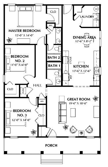 Sign In Floor Plans Ranch New House Plans House Blueprints