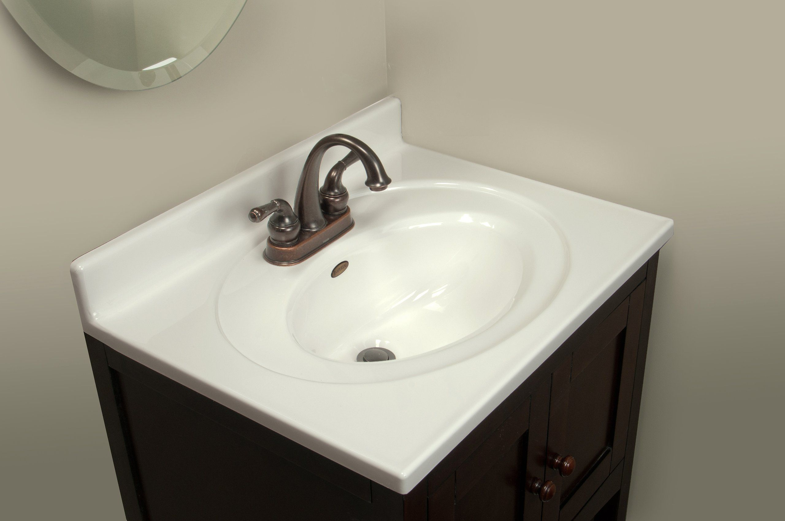 Imperial Fs2519spw Bathroom Vanity Top With Recessed