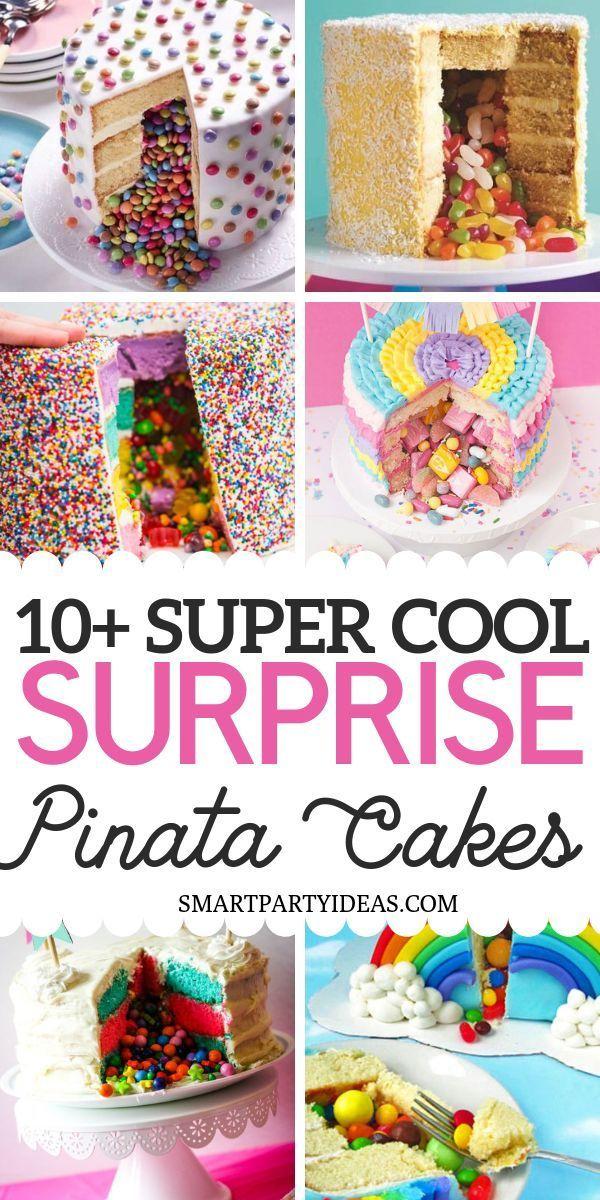 Photo of 12 clevere Überraschungs-Pinata-Kuchen – #clevere #ÜberraschungsPinataKuchen