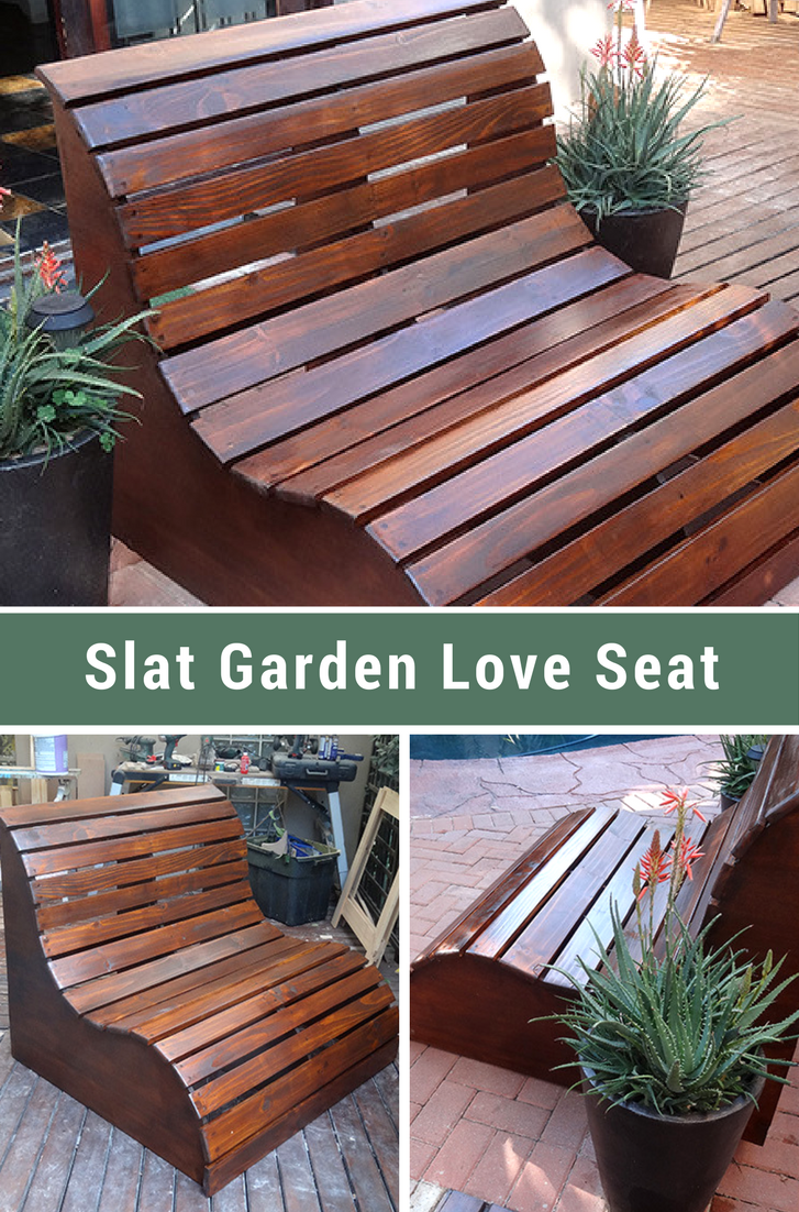 garden love seat on diy slat garden love seat simple woodworking plans woodworking projects wood shop projects pinterest