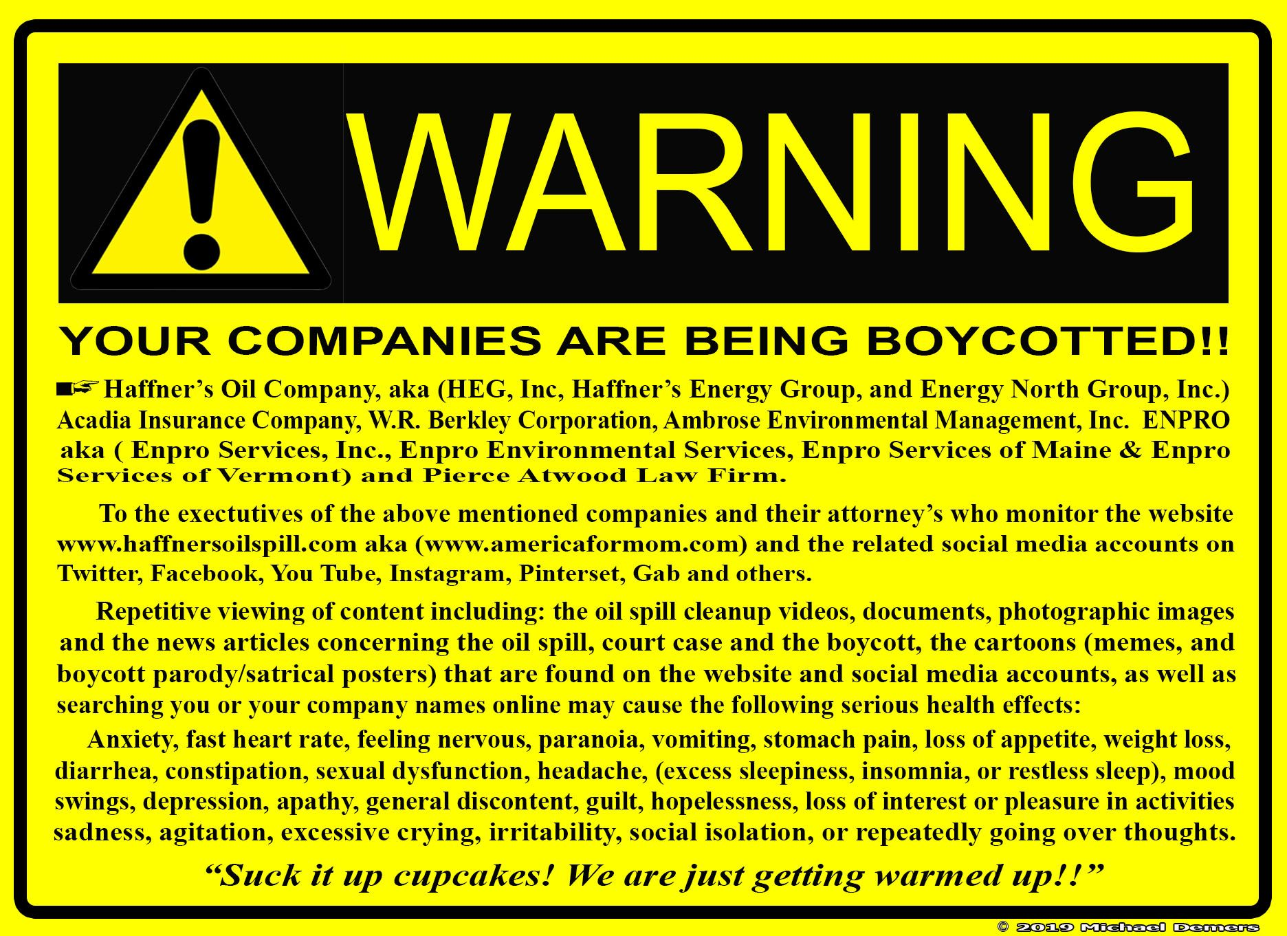 Pin by Haffner's Oil Spill on Boycott Department of