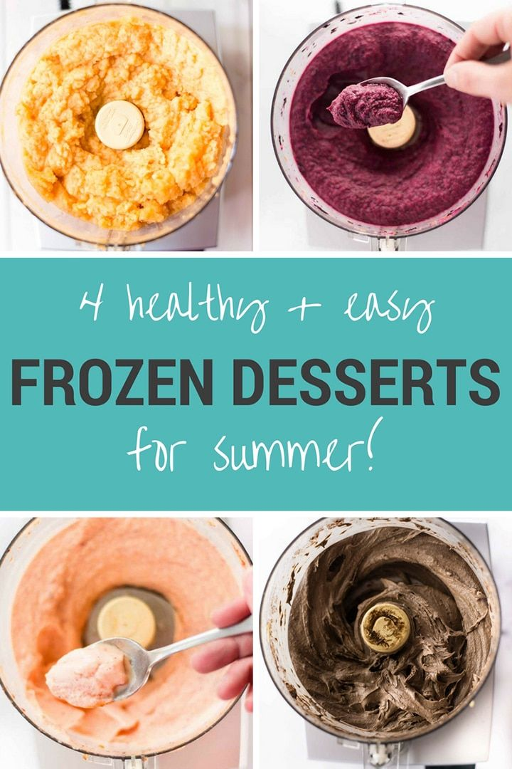 4 healthy easy frozen desserts for the summer sorbet ice cream 4 healthy easy frozen desserts for summer try these 4 great recipes using fresh forumfinder Image collections