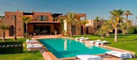 Splendide villa à la Palmeraie de Marrakech