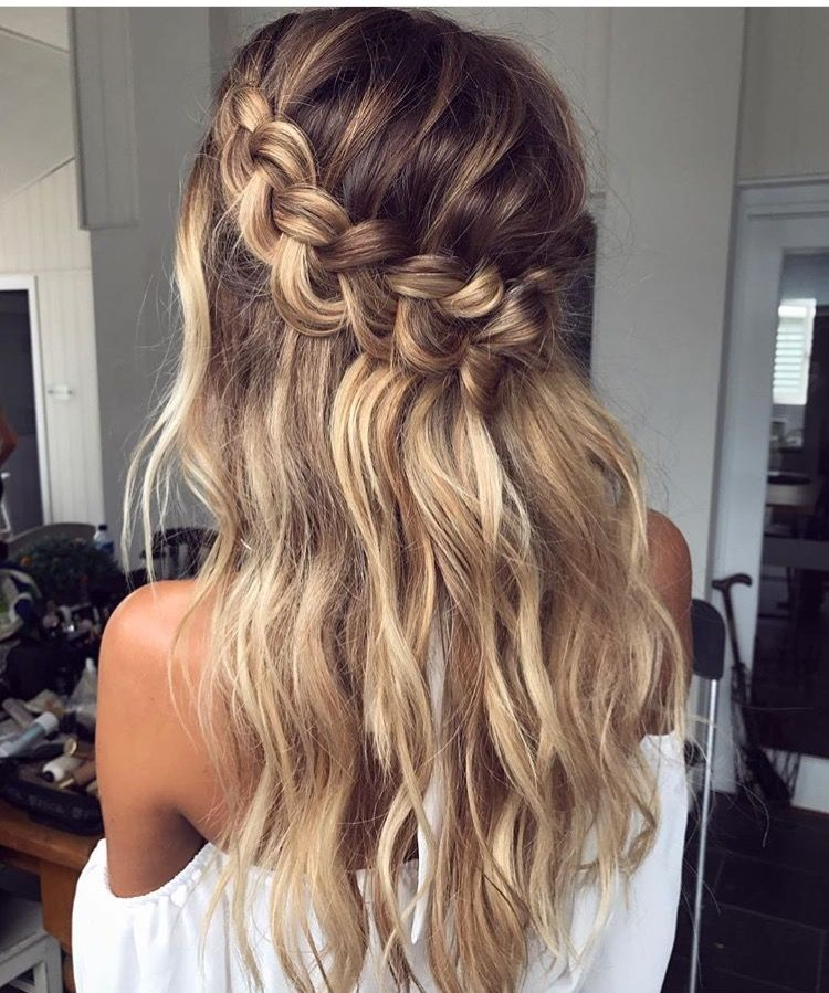 Hair Long Waves Curls Pretty Beautiful Summer Styles Girl Gorgeous Happy Hairstyles Bea Long Hair Styles Hair Styles Braids For Long Hair