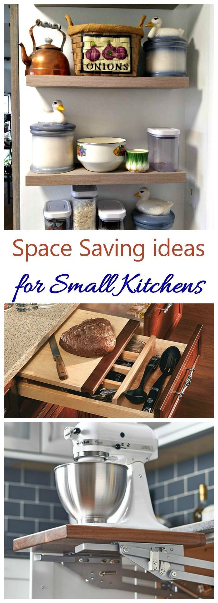 space saving kitchen ideas to make life easier in small on creative space saving cabinets and storage ideas id=32879