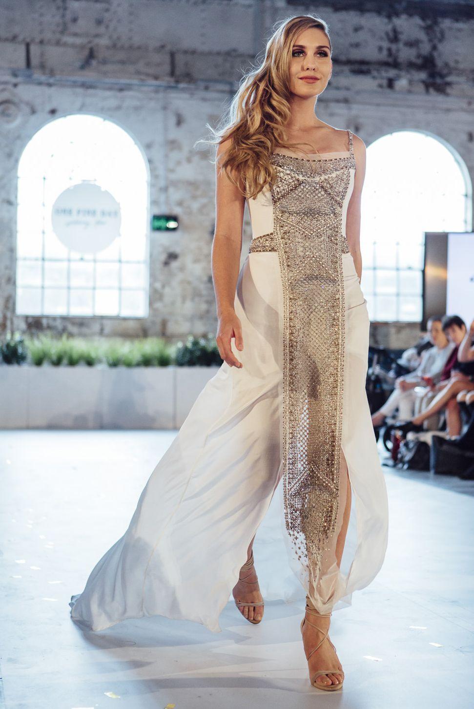 Gwendolynne Yasmina wedding dress Bridal gowns, Dresses