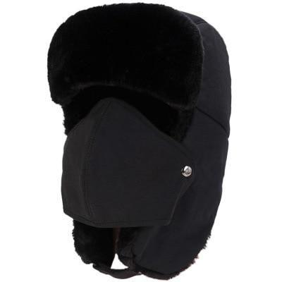 a96a2ca23 Balaclava Earflap Bomber Hats Caps Scarf Men Women Russian Trapper ...