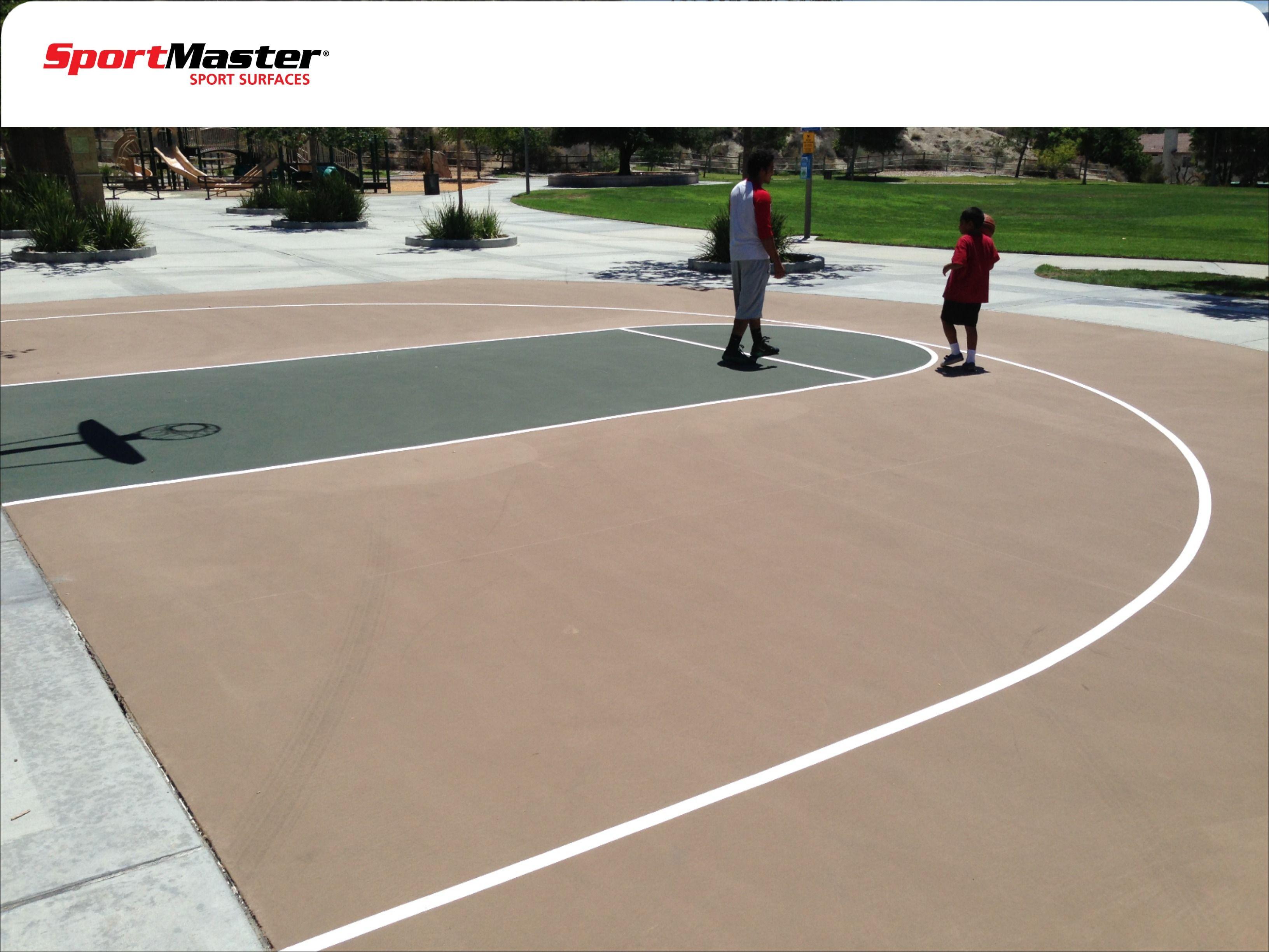 Basketball Court Santa Clarita Ca Basketball Court Backyard Tennis Court Court