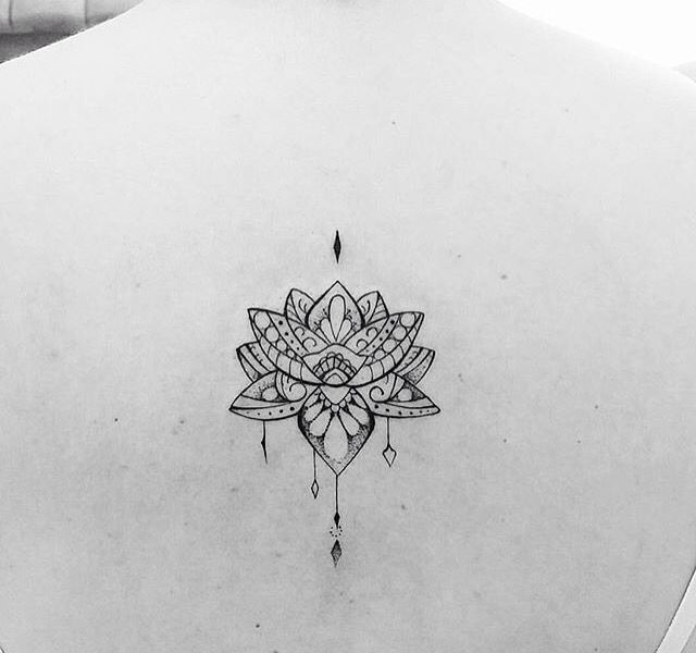 Mandala lotus flower tattoos ideas pinterest lotus flower lotus and mandala - Tatouage fleur de lotus mandala ...