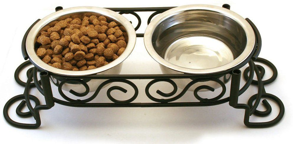 Ethical Pet Mediterranean Double Diner, Small - Chewy com