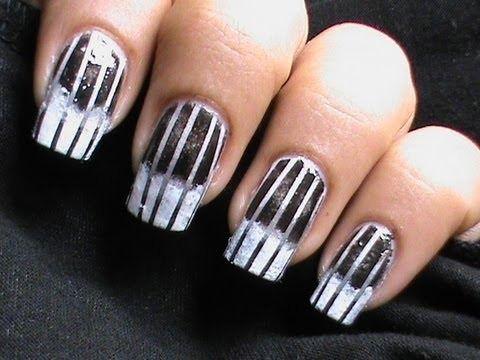 Reciprocal gradient black white nail art designs ombre nail art reciprocal gradient black white nail art designs ombre nail art longshort nails tutorial sponge prinsesfo Gallery