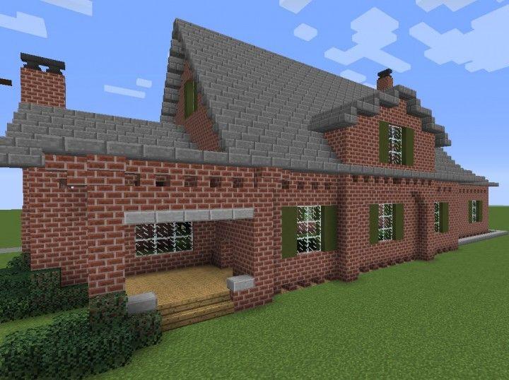 Brick Mansion Minecraft Project Minecraft Brick Mansions Minecraft House Tutorials