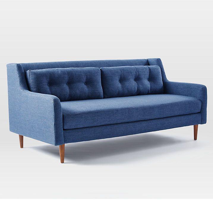 West Elm Crosby 3 Seater Sofa Www Stkittsvilla Com