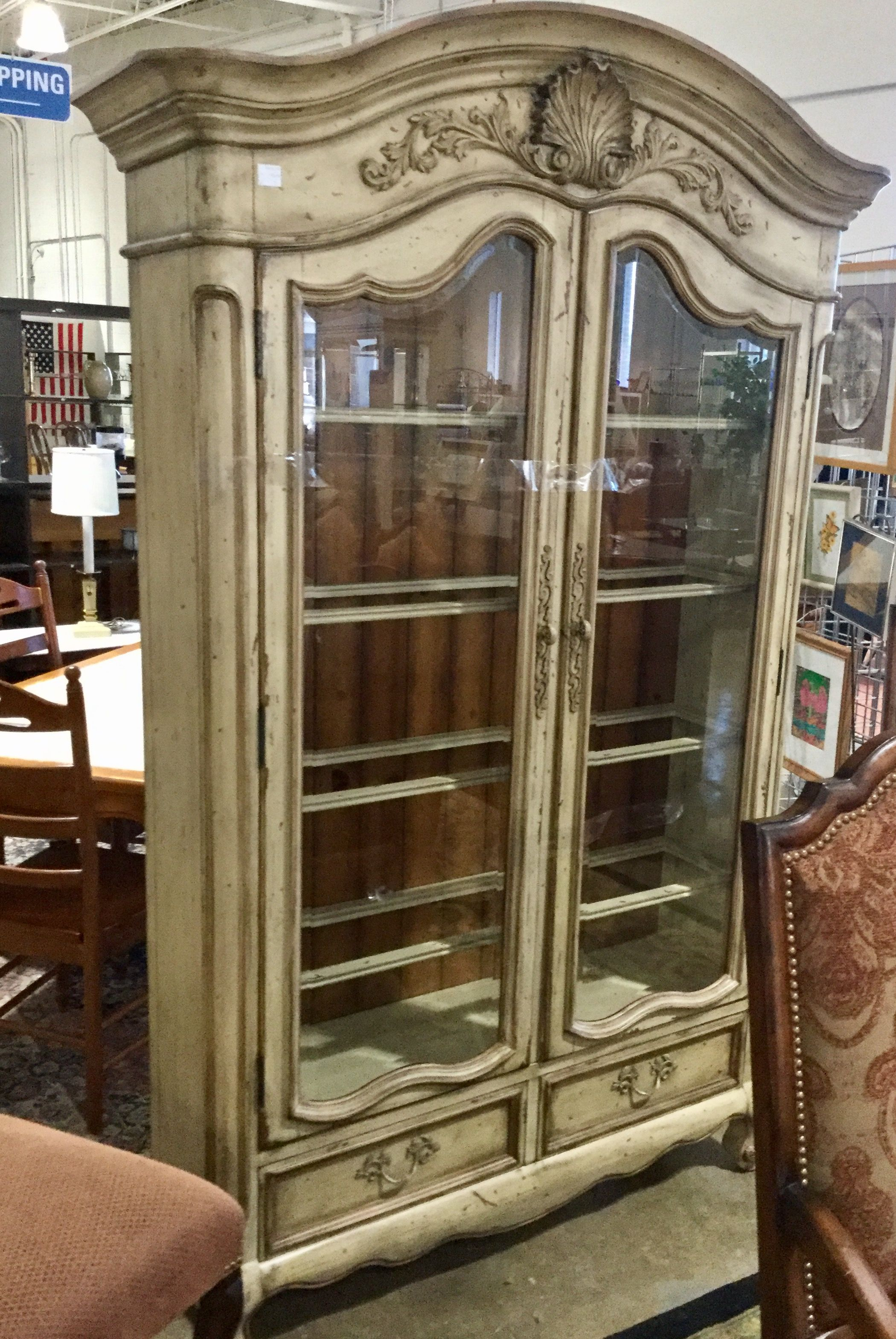 Large glass door China Cabinet available at Habitat for ...