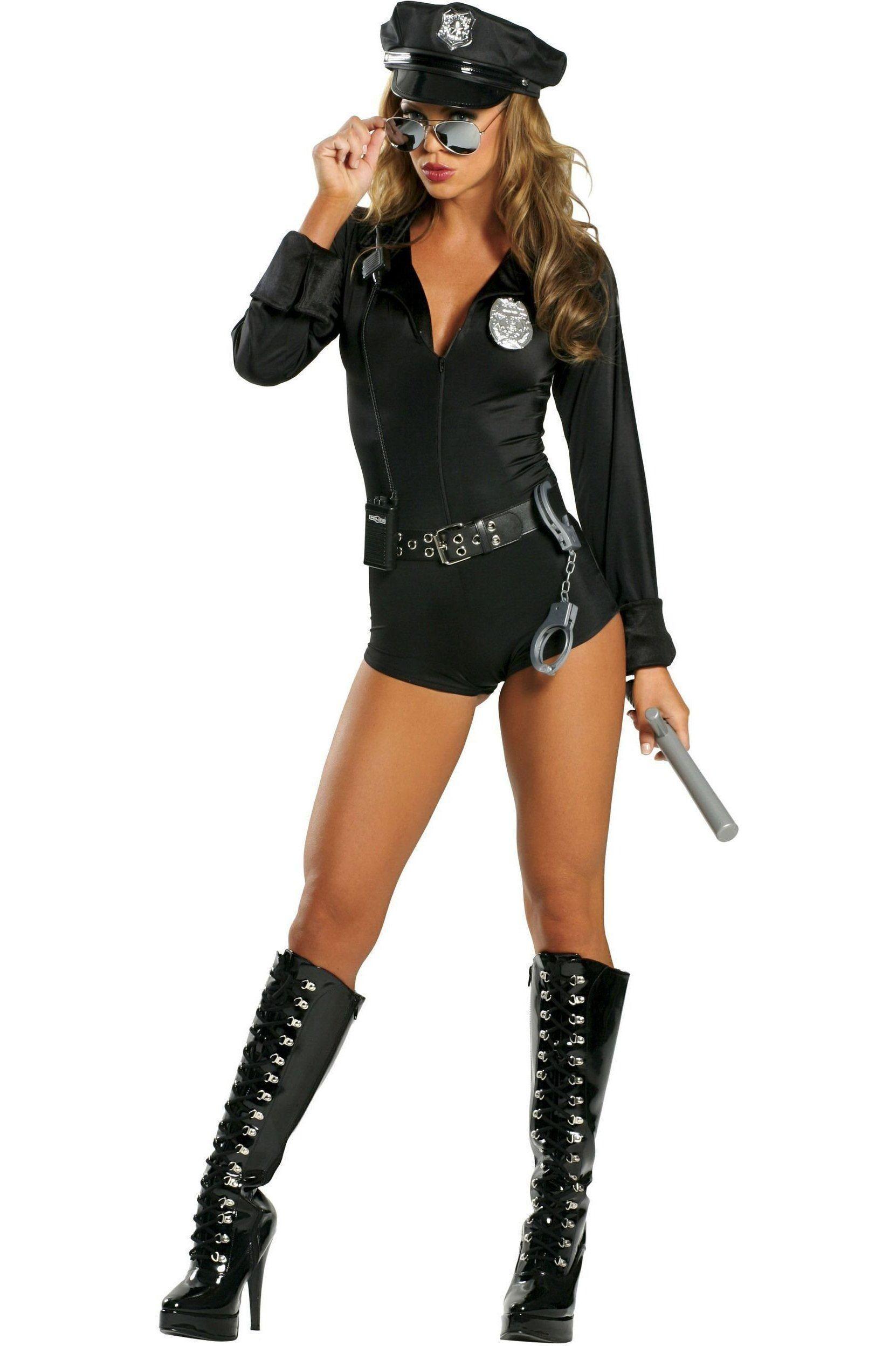 Roma Lady Cop Costume In 2021 Cop Costume Female Cop Costume Female Cop